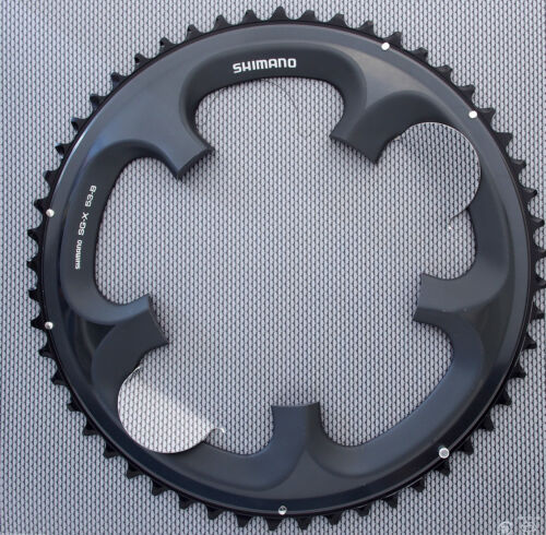 2x10 Shimano Ultegra FC-6700 Chainring 53T for 53-39T Glossy Grey BCD 130mm