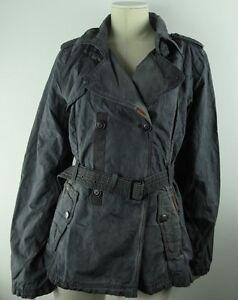 KHUJO MANTEL ANY Damen Trenchcoat Gr. M Olive