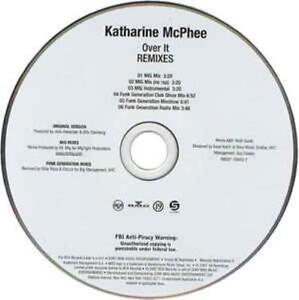 Katharine Mcphee Over It Remixes Promo Music Audio Cd Mig Mix Funk Generation 6 Ebay