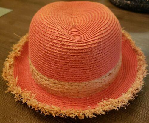 Sun N' Sand Orange Straw Hat