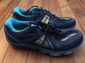 the latest e8cd1 37f81 Details about NEW Brooks Pure Cadence PureCadence Women's Running Shoes -  Blue/Yellow - Sz 12