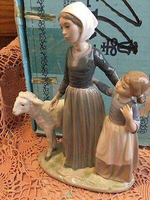 Original Blue Box Lladro 4595 Fairy Godmother RETIRED Mint Condition L@@K!