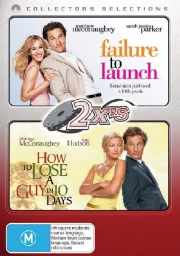 1 of 1 - Failure To Launch/How To Lose A Guy In 10 Days (2-Disc Set)LIKE NEW FREE POST AU