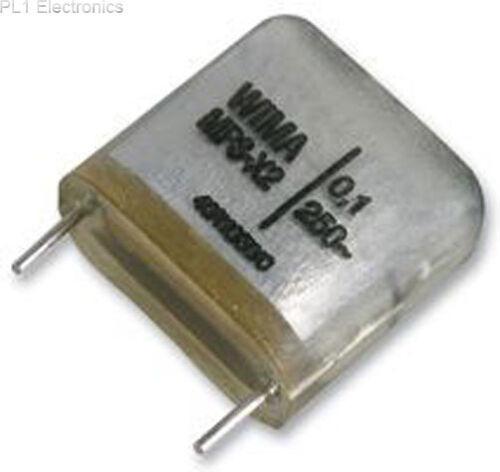 WIMA MP3 0.47UF +//-20/% 250V CLASS X2 CAPACITOR 0.47UF