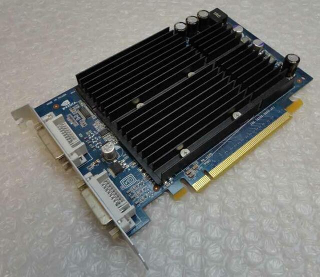 256Mb Apple 180-10386-0000-A01 Nvidia 6600LE Dual DVI PCI-e Graphics Card