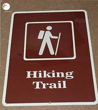 HIKING TRAIL SIGN, hiking sign, outdoor signs, fishing, hunting, camping