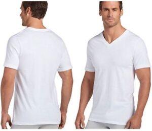 4783db542616 Jockey Men's V-Neck T-Shirts Classic, Stay New Technology, NWOT 4 ...