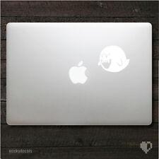 Nintendo Super Mario Bros Boo Ghost Macbook Decal / iPad Decal