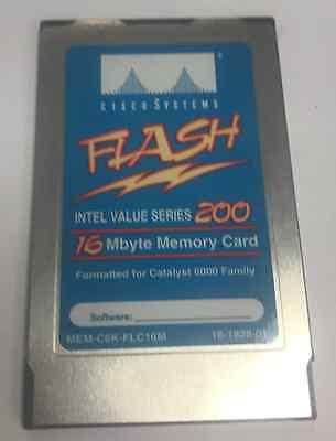 MEM-C6K-FLC16M 16MB Approved Flash card for Cisco 6000