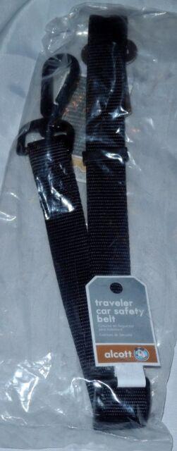 One Size Black Alcott Traveler Car Safety Nylon Belt
