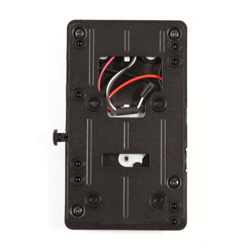 Adaptador de batería V-Mount BP placa trasera para Sony V-Shoe Mount DSLR externo