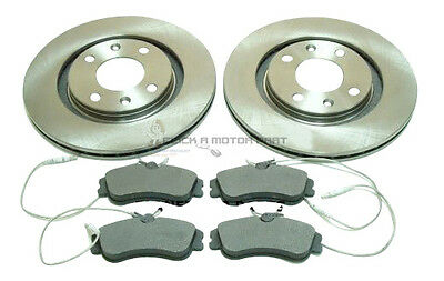 PEUGEOT 306 2.0 HDi 1993-2002 FRONT 2 BRAKE DISCS AND PADS SET NEW 266mm
