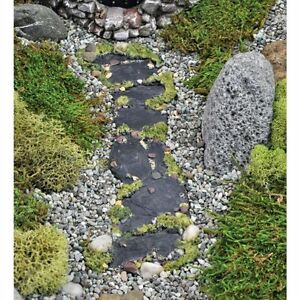 Image Is Loading FiddleHead Fairy Garden Miniature SLATE MOSS PATH 8