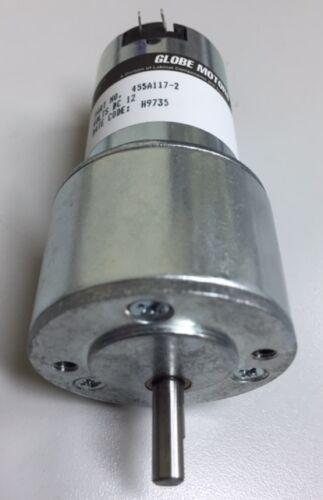 12V DC Gear Motors Globe Motors Part No 455A117-2