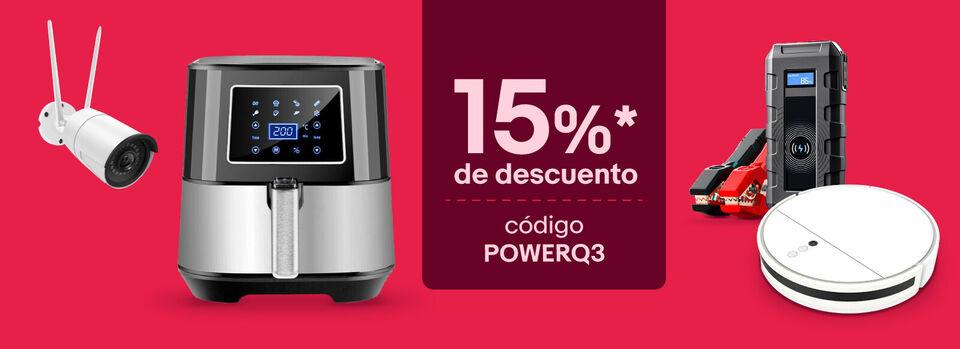 Código POWERQ3 - ¡Disfruta de tus favoritos con un -15%*!