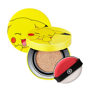 TONYMOLY-Pokemon-Pikachu-Mini-Cover-Cushion-SPF50-PA-9g-2-Color