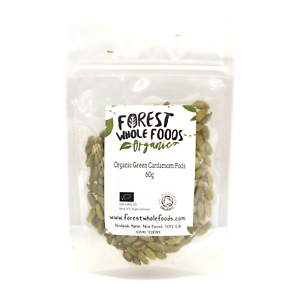 Details about Forest Whole Foods - Organic Whole Green Cardamom Pods (Free  UK Delivery) 60g