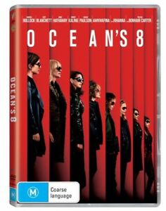 Ocean-039-s-8-DVD-2018-M-Region-4-AUS-PAL-Brand-New-SEALED