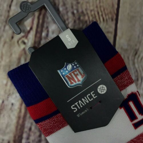 Stance New York Giants NFL Blue Crew Socks