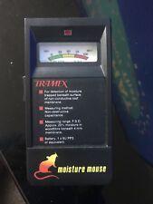Tramex Moisture Meter Black Excellent Condition