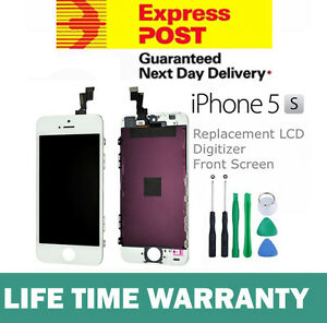 For-iPhone-5S-Replacement-LCD-Digitizer-Front-Screen-Assembly-Panel-Tool-White
