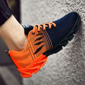 Men-039-s-New-Flyknit-Spingblade-Sneakers-Outdoor-Running-Athletic-Jogging-Shoes