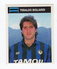 figurina CAMPIONI E CAMPIONATO 90/91 1990/91 numero 9 ATALANTA BIGLIARDI