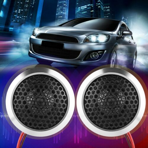 2pcs Car Small Treble Horn Loud Audio Speaker Portable Tweeter Loudspeaker 150W
