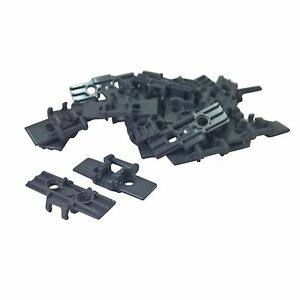 Dark Bluish Gray Link Tread Wide with Two Pin Holes 5 x Lego 57518 Technic
