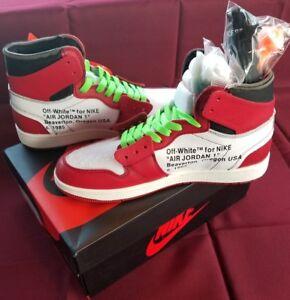 nicekicks de sortie Air Jordan 1 X Off Fr Ebay Blanc vraiment pas cher Livraison gratuite best-seller 0HTdIM2Rcu