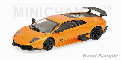 1:43 Minichamps Lamborghini Murcielago LP 670-4SV Naranja Limitado