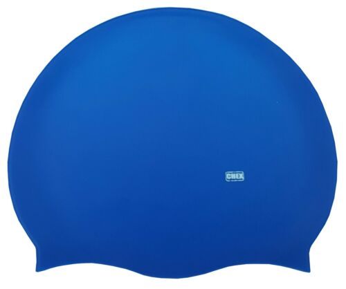 Years Swimming Swim Hat Cap CHEX 100/% Silicone Plain Junior Senior Adults 8