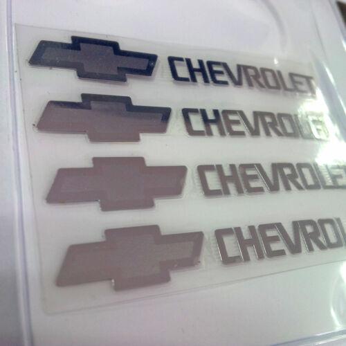 Metal Point Chevrolet Emblem 4p 1Set For 2010-2016 Chevy Spark