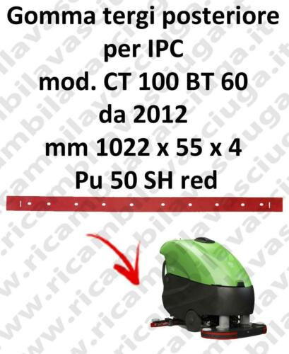 CT 100 BT 60 à partir de 2012 BAVETTE ARRIERE pour IPC