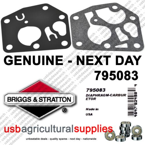 BRIGGS /& STRATTON CARBURETOR GASKET 795083 495770 GENUINE FAST NEXT DAY DELIVERY
