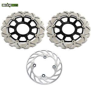 Front-Rear-Brake-Discs-Rotors-Honda-CBR1000RR-06-07-RVT1000R-VTR-1000-2000-2007
