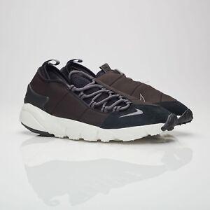 6e87b7a7d791 Nike Air Footscape NM Mens 852629-002 Black Dark Grey Running Shoes ...