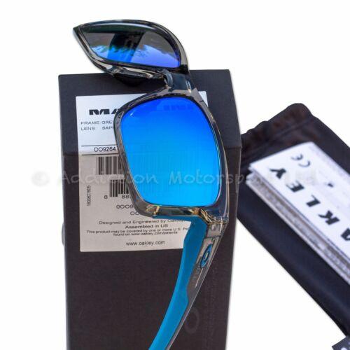 5857c1d4bd Details about Oakley Mainlink Sunglasses in Grey Ink Sapphire Iridium  OO9264-03 Motogp