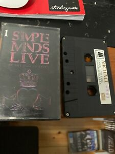 SIMPLE-MINDS-LIVE-IN-THE-CITY-OF-LIGHT-Michael-903-Cassette-Tape