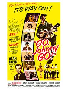 Fifties - Go, Johnny, Go! movie poster reprint (1959)