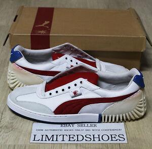 f548762e1 PUMA MY-7 MIHARA YASUHIRO 340891-01 WHITE TRUE RED US 11.5 green my ...