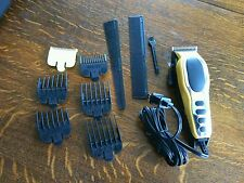 Precision Hair Clippers Kit Trimmer Model MC 2 Adjustable Attachments Wahl Pro