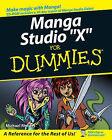 Manga Studio For Dummies by Michael Rhodes, Doug Hills (Paperback, 2008)