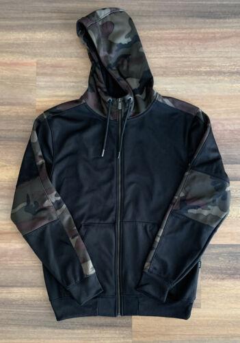 CSG Camo Zip-Up Hoodie Jacket Adult Medium