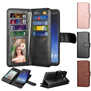For-Samsung-Galaxy-S8-S8-Plus-Wallet-Case-Leather-Card-Pocket-Phone-Cover