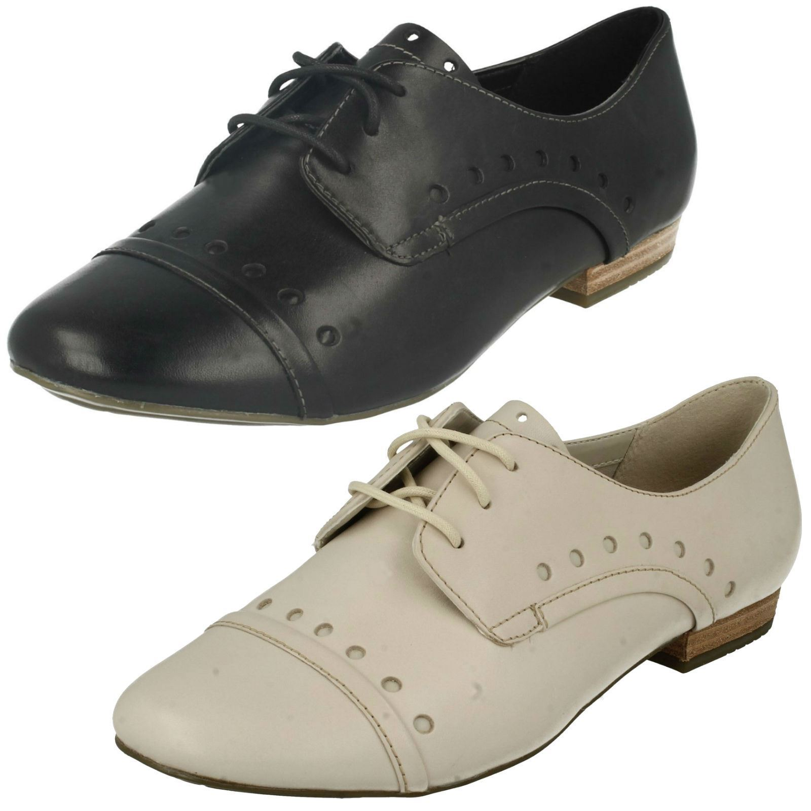 Ladies Clarks Lace Up shoes Henderson Lady
