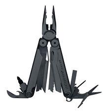 Leatherman 830246 Black WAVE Multi-Tool with Black Molle Sheath