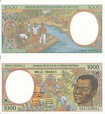 Central African St. / Äquat. / Equat. Guinea - 1000 Francs 2000 UNC - Pick 502Nh
