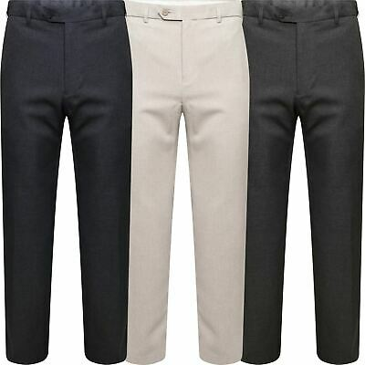 Marks /& Spencer Mens Active Waist Trousers New M/&S Smart Formal Work Long Pants