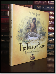 The-Jungle-Book-by-Rudyard-Kipling-Ill-by-Robert-Ingpen-New-Hardcover-Edition